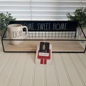Rae Dunn HOME SWEET HOME Wall Shelf Wood Decor